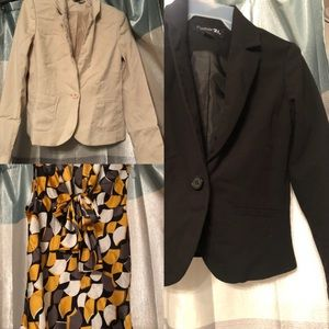 Bundle Deal Nine West Top and Blazers
